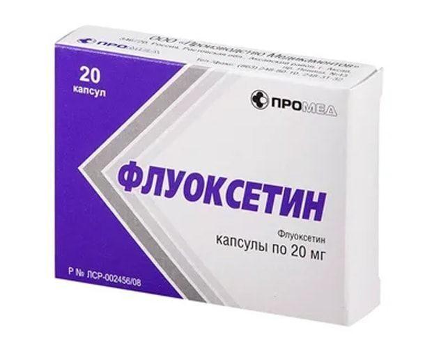 флуоксетин купить в интернет аптеке без рецептов